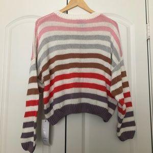 Vici rainbow sweater